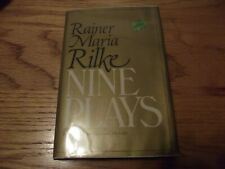 Nine Plays by Rainer Maria Rilke (1979, Hardcover)