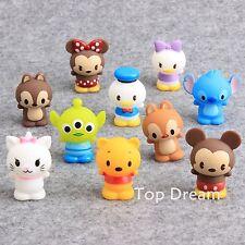 10pcs/set Buzz Lightyear Donald Winnie Pooh PVC Toys Doll Kids Gift