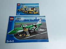 LEGO !! INSTRUCTIONS ONLY !! FOR CITY 7734 CARGO PLANE