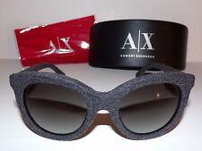 Giorgio Armani® 8041-M Sunglasses 53188G Gray Black Flannel w/ Case, Cloth