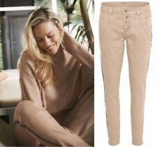 Cream - 10603913 Pants/Nougat/side stripes Size 29