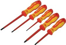 CK Triton XLS T4729 Insulated 5 PCE 1000-Volt VDE Pozi Slot Screwdriver