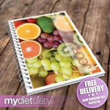 FOOD DIARY WEIGHT WATCHERS WW COMPATIBLE - Grapes Oranges Kiwi (W004W) 12wk diet