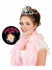 Haarreifen Lilly mit blinkenden Lichtern Karneval Fee