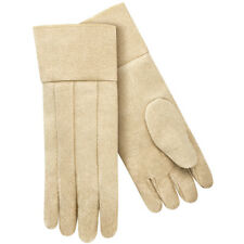 "18"" Vermiculite  Fiberglass Forge Thermal Protective Gloves Wool Insulated"