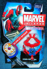 MARVEL UNIVERSE SCARLET SPIDER SPIDERMAN AVENGER PETER PARKER CLASSIC LEGENDS