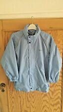 Regatta Great Outdoors Boys Girls Light Blue Rainproof Jacket in a Bag 9-10 Yrs