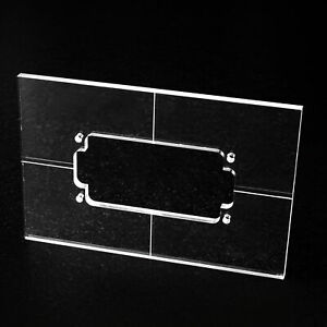 Frässchablone für Humbucker Acryl, 5mm