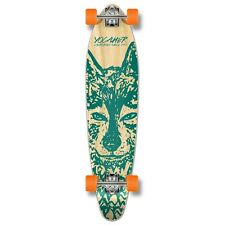 Yocaher Complete Spirit Wolf Kicktail Longboard