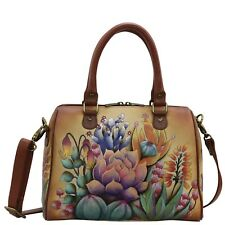 "Anuschka #625-DTS ""DESERT SUNSET""  Zip Around Classic Satchel11""x8.25""x5.75"" NWT"