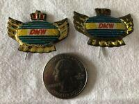 Lot of 2 DMW Motorcycle Holland Dutch VTG Stickpins Pin Pinback #37382