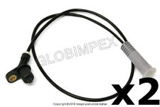 BMW E36 (1992-1999) REAR LEFT and RIGHT ABS Sensor (2) DELPHI +1 YEAR WARRANTY