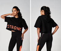 Strong Nation STRONG ID Crop Power Hoodie - Black Z1T02354