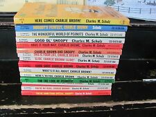 Charlie Brown Peanuts Trade Paperback 15 books TPB great condition