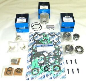 New Mercury/Mariner 40/50/60 HP 3-CYL Powerhead [1998-2005] Rebuild Kit