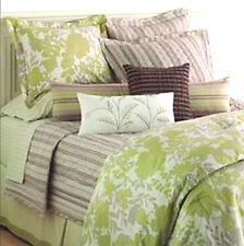 TWIN - Sonoma Life & Style - Pacifica 2-Pc Green Floral SHAM & DUVET COVER SET