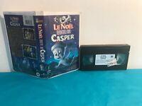 Le noel hante de casper   VHS tape & clamshell case FRENCH