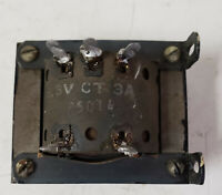 Vintage P5014 Power Transformer 6.3V CT 3A Made in USA # 54