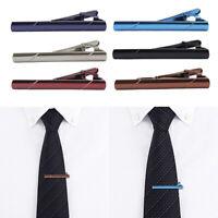 Men's Metal Fashion Simple Necktie Tie Pin Bar Clasp Clip Formal Casual Suit
