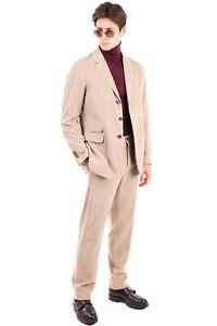 RRP €955 MASSIMO ALBA Velvet Suit Mismatch Size Jacket 52 / XL Trousers 54 / 2XL