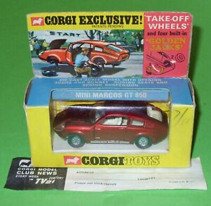 Corgi / 341 Mini Marcos GT 850 / Boxed