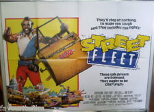 Cinema Poster: STREET FLEET aka DC CAB 1983 (Quad) Mr T Gary Busey Irene Cara