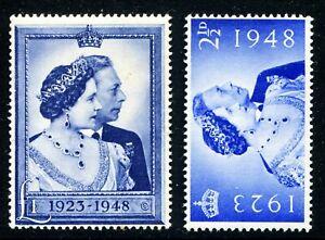 GB - KGVI 1948 - SG 493-494 (Scott #267-268) MNH