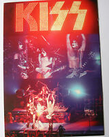 KISS On Stage Original Collectable Postcard Official (NOT patch badge shirt)