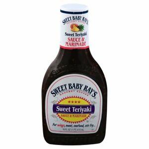 Sweet Baby Ray's Sweet Teriyaki Sauce and Marinade 16 fl oz