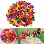 500 pcs Water Balloons Bombs Refill Mixed Colorful For Game Party Kids Toys
