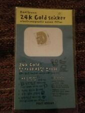 Pony Brown 24K Gold Plated  Block Shield Cell Phone Sticker