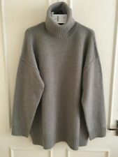 Zara 100% Wool Roll Neck Sweater Oversized Size M