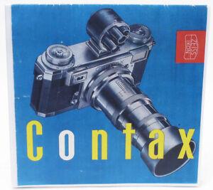 Professional Copy of Contax IIa IIIa Brochure from 1954 - very nice