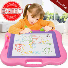 Colorful Multifunction Plastic Educational Magnetic Kids Writting Drawing Board
