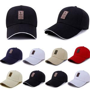 7 Colors Men Women Black Baseball Cap Snapback Hat Hip-Hop Adjustable Bboy Caps