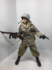 1/6 DRAGON US 101ST AIRBORNE PARATROOPER 1ST SGT THOMPSON + COLT WW2 BBI DID 21