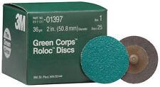 "3M 1397 - Green Corpsa?? Roloca?? Disc 01397 2"" 36YF 25 discs/bx"