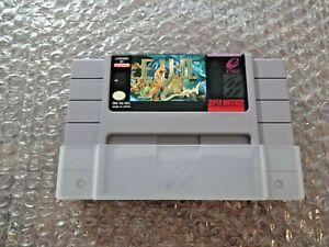 E.V.O. (EVO): The Search for Eden USA Version SNES NTSC Video Game Card