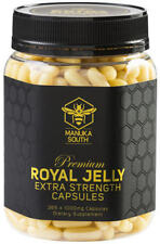 Manuka South NEW ZEALAND PREMIUM Royal Jelly 1000mg - 365 Caps EXTRA STRENGTH