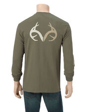 Mens Realtree Outfitters Long-Sleeve Shirt NWT Green L