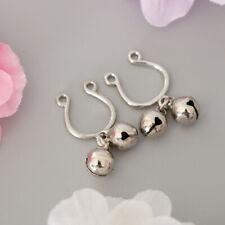 Nipple Shield Ring Body Jewelry Fashion Lady Bell Dangle Fake Non-Piercing