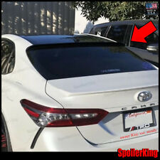 (284R) Rear Roof Spoiler Window Wing (Fits: Toyota Camry 2018-on xv70)