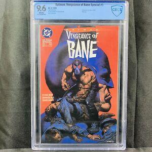 Batman: Vengeance of Bane (1993) DC Comics 1st Appearance Of Bane CBCS 9.6