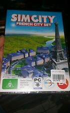Sim City French City Set DLC BRAND NEW PC GAME - FREE POST *