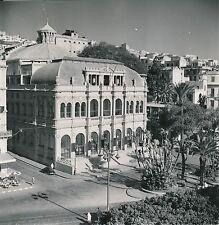 ALGÉRIE c. 1950 - Auto Le Théâtre Municipal  Place Bresson  Alger - Div 11398