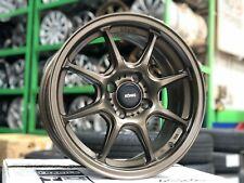 NEW Konig Lockout 15x7 4x100 Bronze Wheel (Set of 4) Honda Fit Toyota Yaris Kia