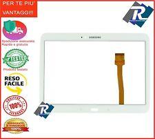 "Touch Screen Vetro Samsung Galaxy Tab 3 Gt- P5200 - P5210 10.1"" Bianco Biadesivo"