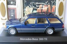 MERCEDES 300 TE BREAK NAUTIC BLUE S124 1990 MINICHAMPS B66041029 1/43 SW BLAU