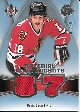 "15/16 Ultimate Collection Material Achievements Denis Savard ""87"" Jersey #69/99"