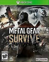 Metal Gear Survive (Microsoft Xbox One, 2018) NIB Factory Sealed